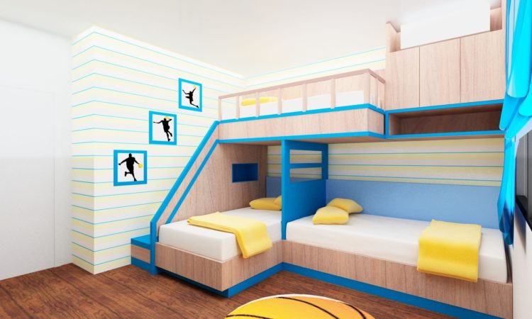 20 Beautiful Children's Room Designs with Bunkbeds