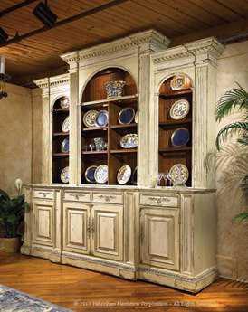 Habersham Biltmore Billiard Room 105''H China Cabinet without Lift