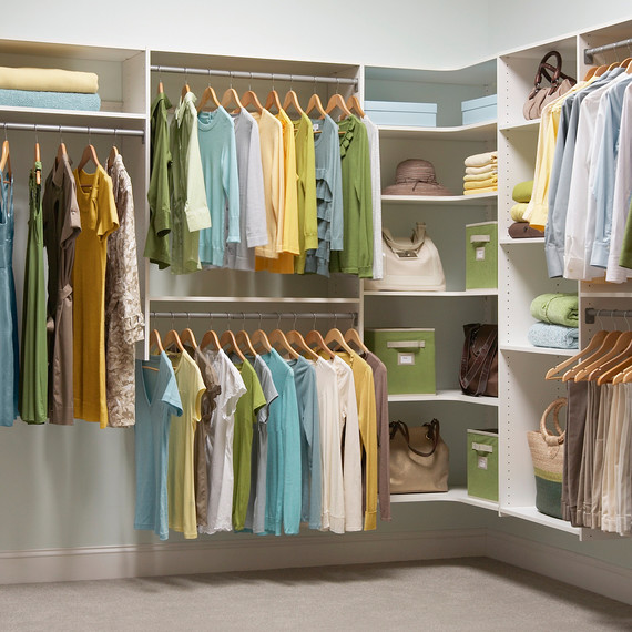 5 Closet Organization Tips That'll Make Getting Dressed More Fun