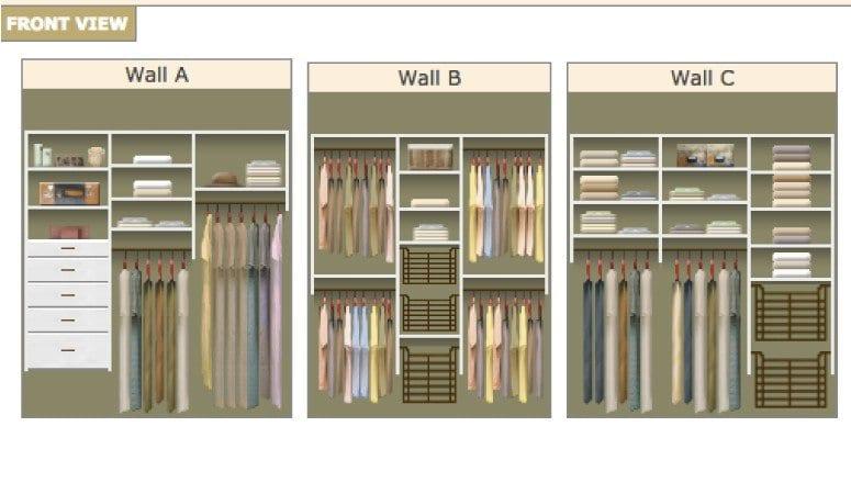 DIY Closet System Plans | Kaleidoscope Living