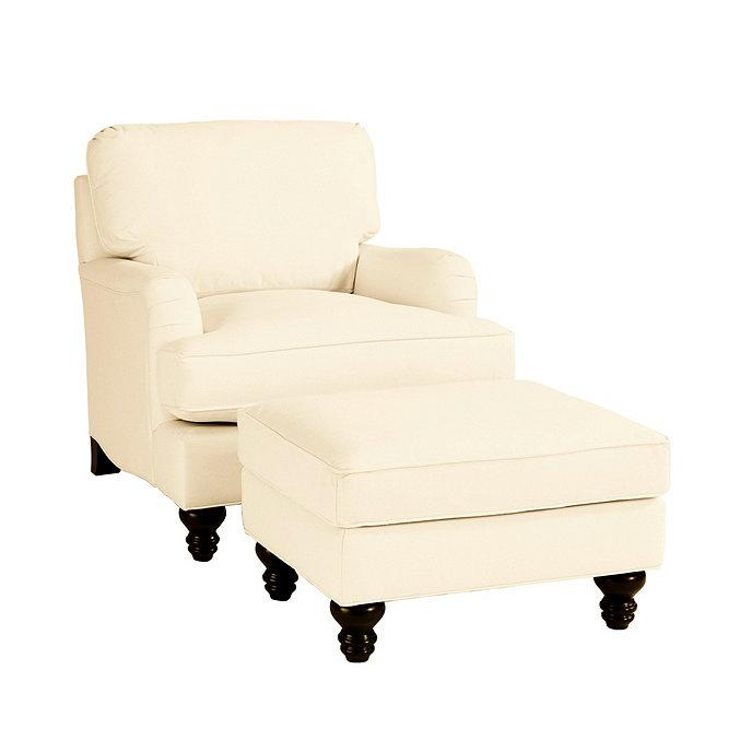 Eton Club Chair Ottoman Ballard Designs