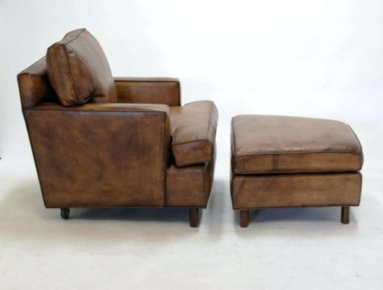 Enchanting Brown Chair With Ottoman A Wonderful Club Chair And