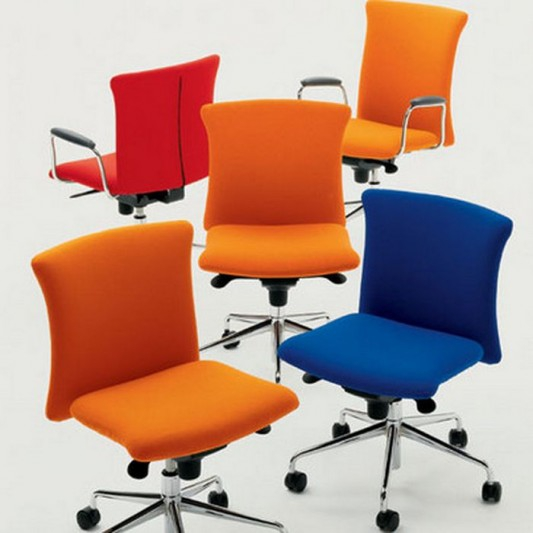 Why prefer buying colored office chairs   at your work place