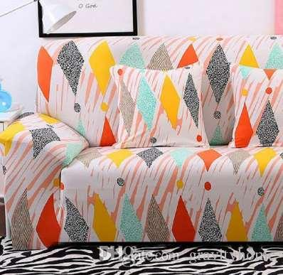Full Wrap Sofa Cover For Armrest Sofa All Inclusive Colourful Big