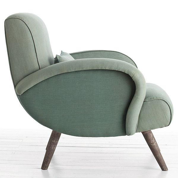 The compact and comfortable Trilby chair by Arteriors