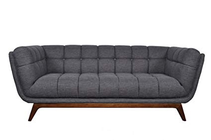 Amazon.com: Mid Century Modern Fabric Blend Sofa,
