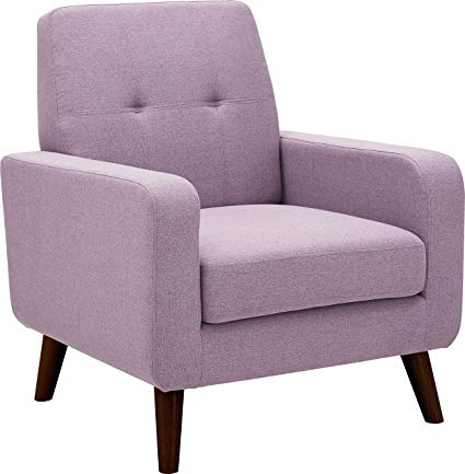 Amazon.com: Dazone Accent Chair, Modern Arm Chair Upholstered Fabric