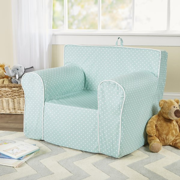 Fun Furnishings Personalized My Comfy Chair in Mini Dot & Reviews