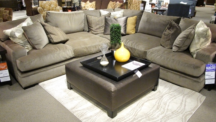 Precious Fontaine Sectional Sofa So Comfy With 27quot Deep Oversized