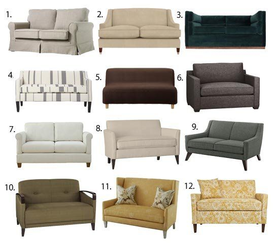 Wonderful Compact Sofas For Small Rooms 25 Best Small Sofa Ideas On