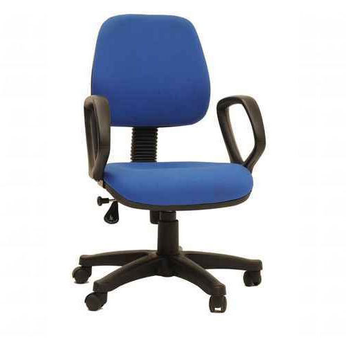 Blue Revolving Computer Chair | Pearl Industries | Manufacturer in