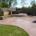 Interesting concrete patio ideas