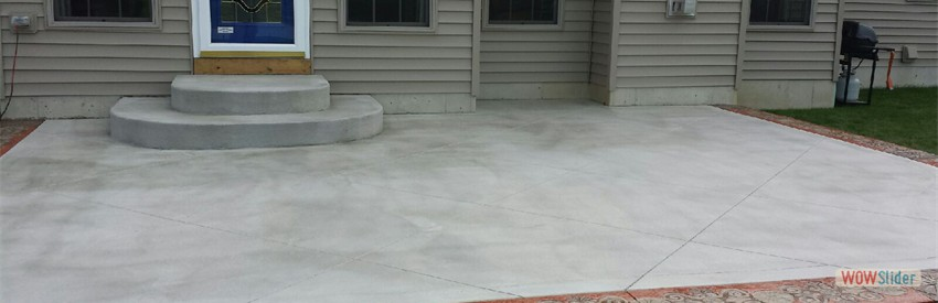 Stamped Concrete Patio | Custom Concrete Patio | WNY | Buffalo NY
