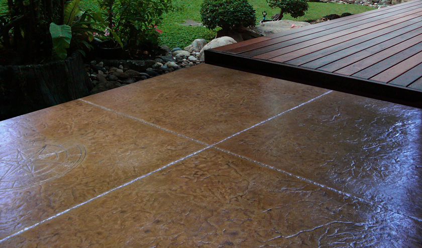 Stamped Concrete Patio - Cost & Designs | Concrete Craft