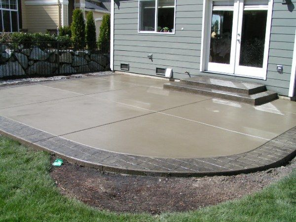 cement patio designs | What designs do you recommend for patios