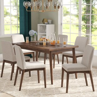 7 Piece Kitchen & Dining Room Sets You'll Love | Wayfair
