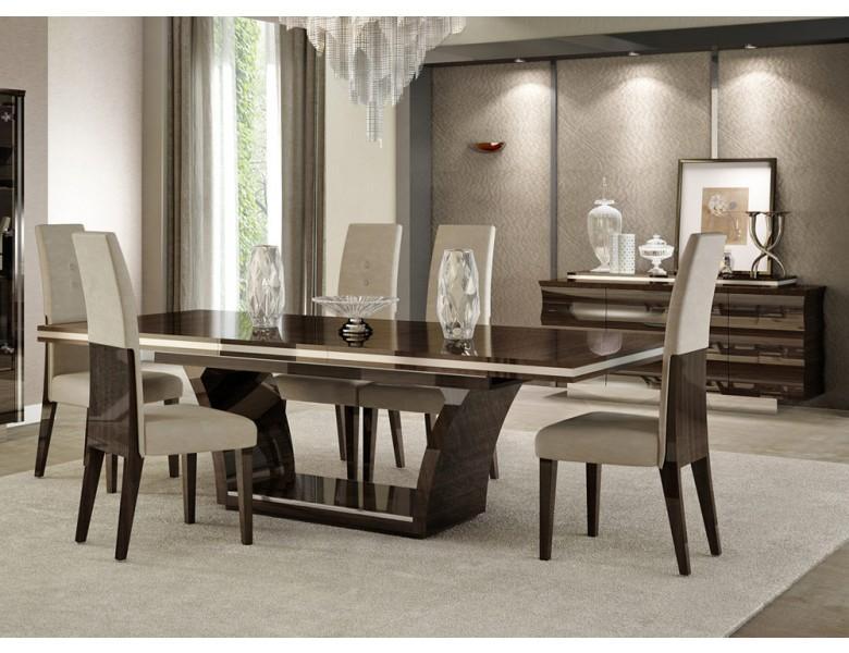 Giorgio Italian Modern Dining Table Set