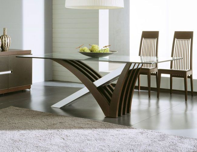 Glass Top Modern Dining Tables For Trendy Homes | Decorating Ideas