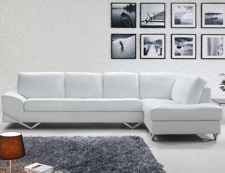 Cute Creative Of White Italian Leather Sofa Modern Italian Sectional