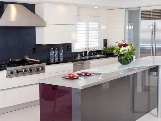 Modern Kitchen Design: Pictures, Ideas & Tips From HGTV | HGTV