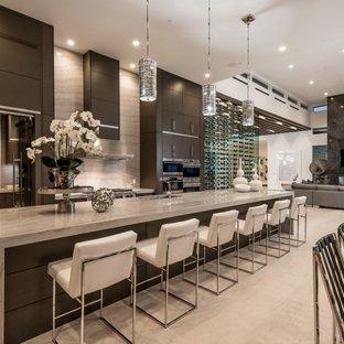 75 Most Popular Contemporary Open Concept Kitchen Design Ideas for