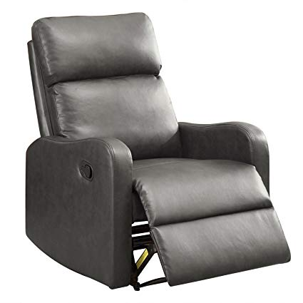 Amazon.com: BONZY Recliner Chair Leather Recliner Chair Contemporary