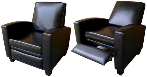 Modern Recliners Leather I Want A Modern Black Leather Recliner