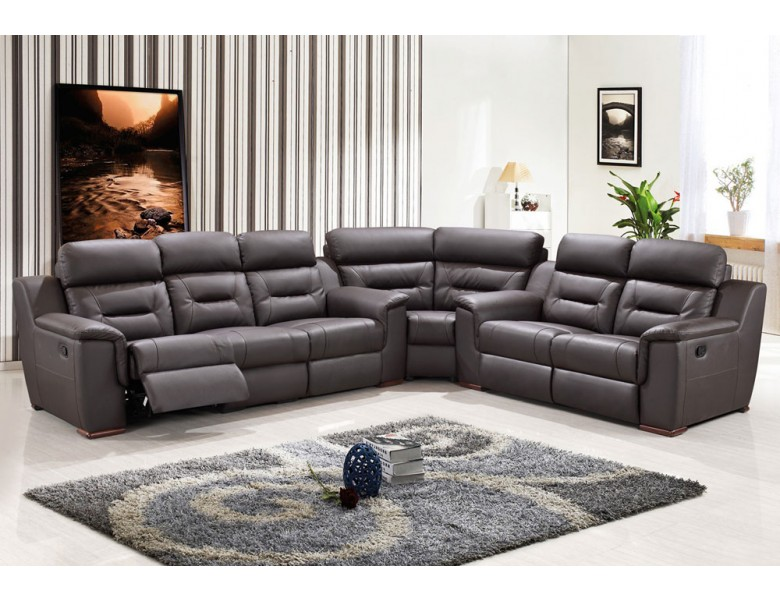 Becky Modern Recliner Sectional Sofa