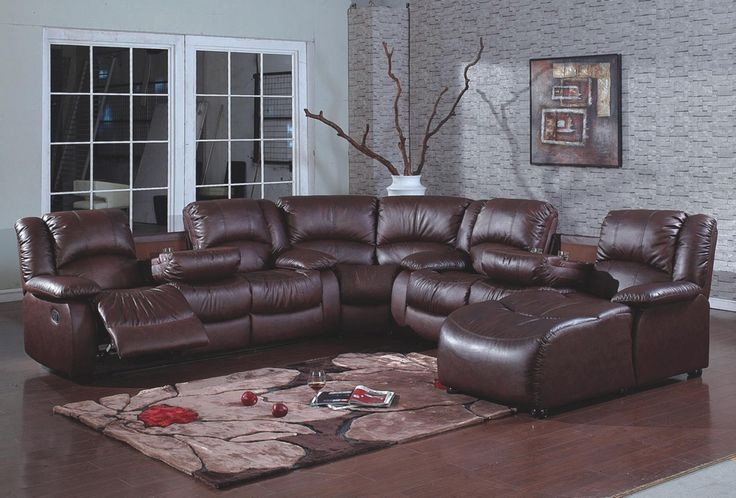 U Shaped Sectional With Recliner Contemporary Sofa Recliners Migrant
