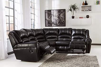 Amazon.com: Manzanola Contemporary Black Color Faux Leather