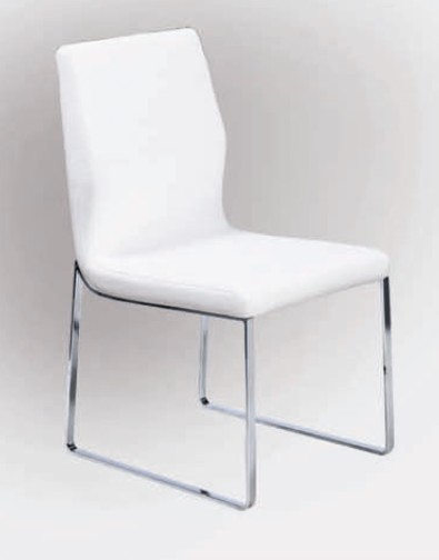 Contemporary White Dining Chairs Modern Table With Chair Ideas 17