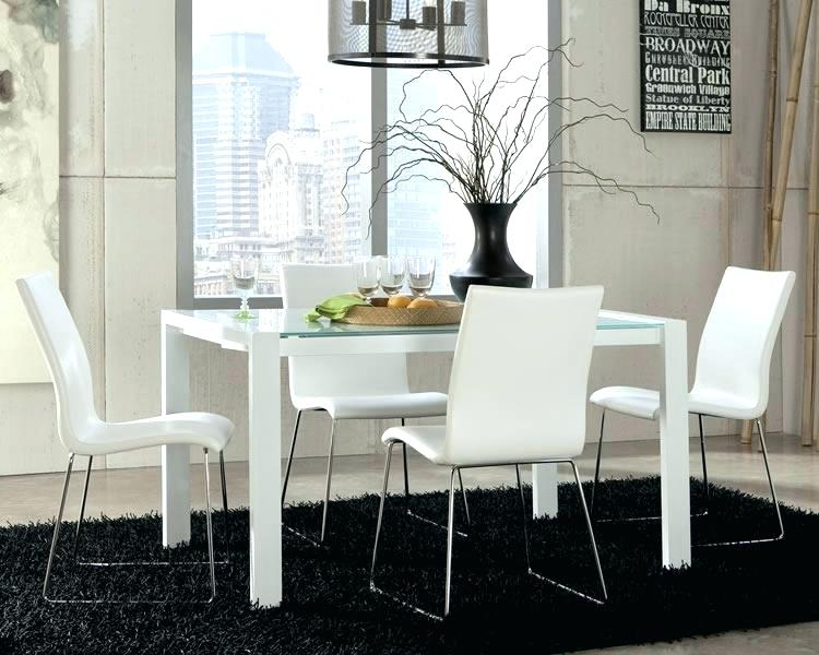 Modern White Dining Chair Fabulous Modern White Dining Room Sets
