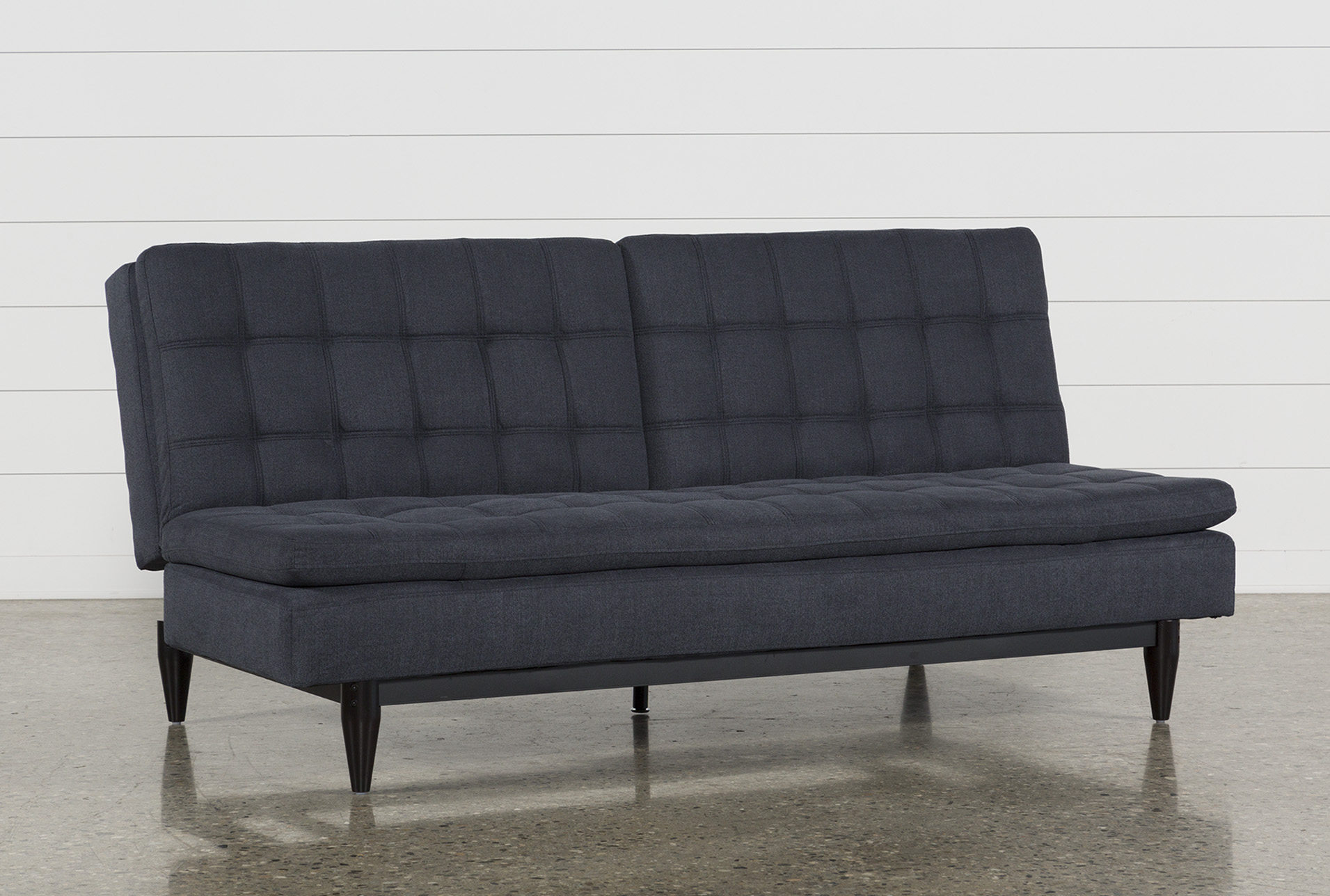 Peggy Grey Convertible Sofa Bed | Living Spaces