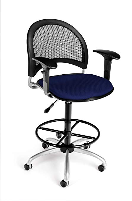 Amazon.com : Cool Office Chairs - Valdez Drafting Chair with Arms
