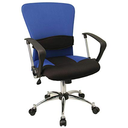 Amazon.com : Cool Office Chairs - Night Star Lumbar Support Office