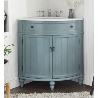 Buy Corner Bathroom Vanities & Vanity Cabinets Online at Overstock