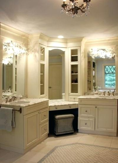 Inch Single Sink Vanity Bathrooms Design Corner Bathroom Bath With