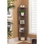 Make Your Reading Room Beautiful With The   Corner Bookshelves