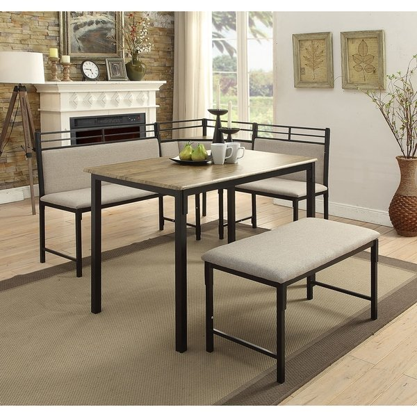Shop Tool Less Boltzero Corner Dining Nook - Free Shipping Today