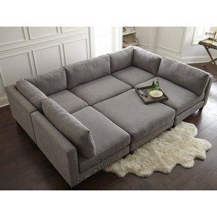 Angled Corner Sectional Sofa | Wayfair