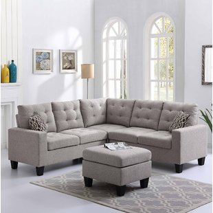 Corner Sectional Sectionals You'll Love | Wayfair