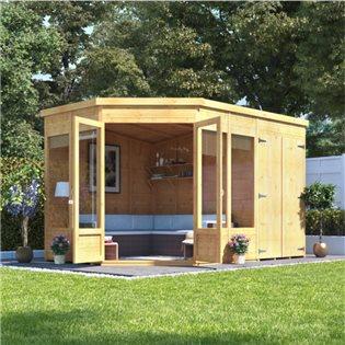 Corner Sheds | Wooden Garden Sheds | Small Corner Sheds