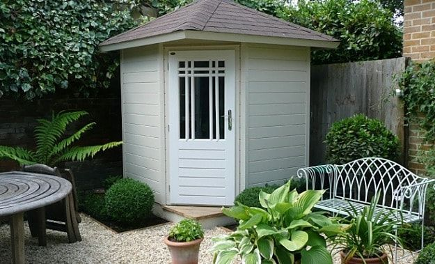 Small Corner Garden Shed | Budget-Friendly Garden Shed Ideas Worth
