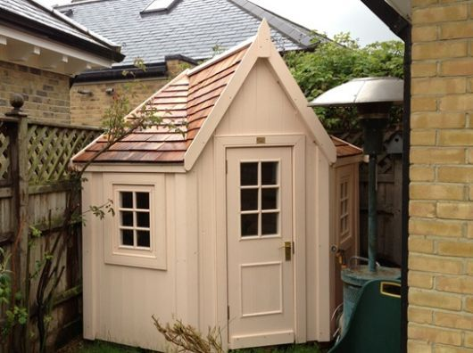 Another corner shed | Shed/ greenhouse | Pinterest | Corner sheds