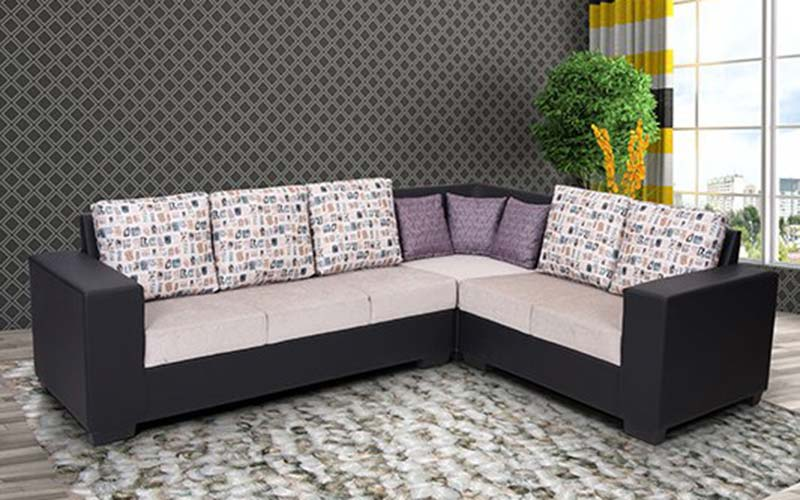 Buy Royaloak Twilight Corner Sofa in Fabric by Royaloak at the