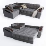 Space saving Corner Sofa Bed