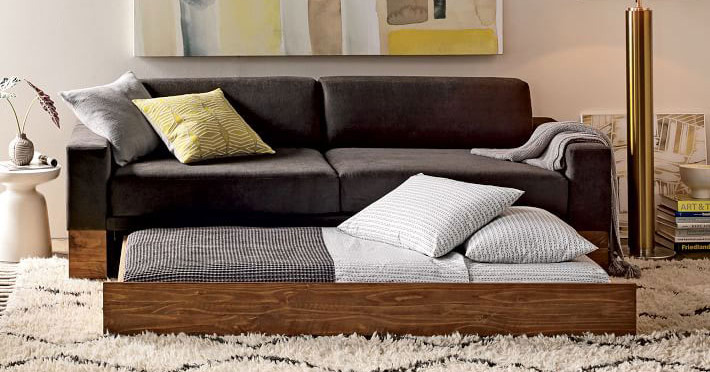 Couch beds; for when space is an issue
