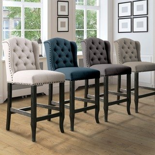 Decorating your living space with counter   height chairs