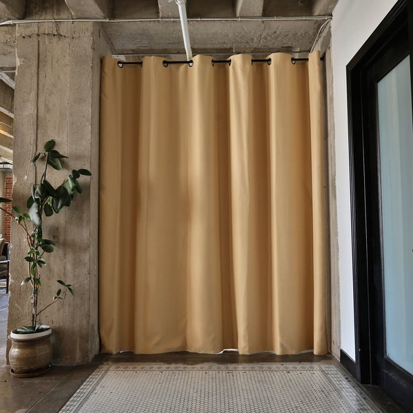RoomDividersNow Premium Heavyweight Room Divider Curtain Panel