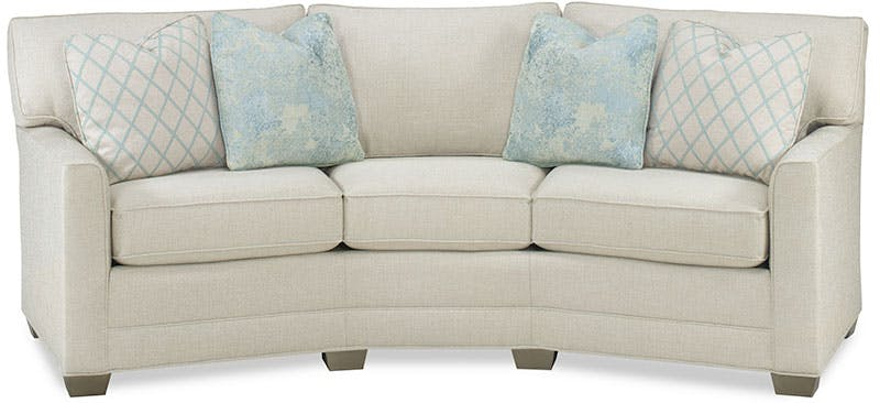 Temple Living Room Curved Sofa 17322-105 - Eller and Owens Furniture